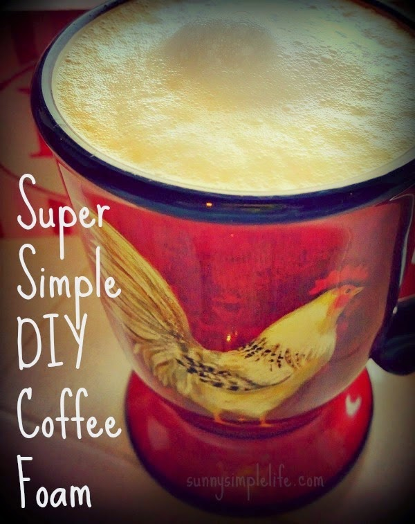 how to make coffee foam