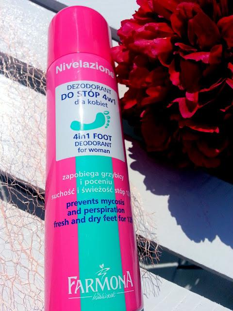 Nivelazione, Dezodorant do stóp dla kobiet 4w1, FARMONA