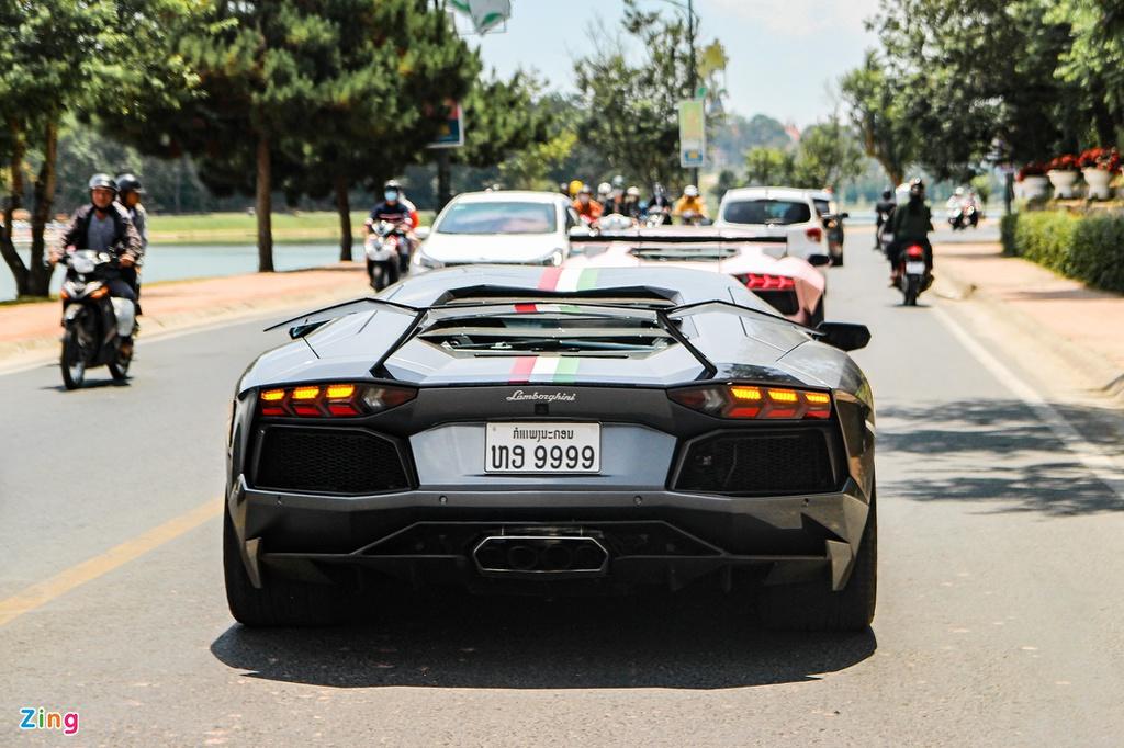 4 chiếc Lamborghini Aventador độ khủng trong hành trình Car Passion