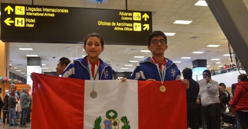 Escolares peruanos ganan medalla de oro y plata en la XXVI Olimpiada Rioplatense de Matemática