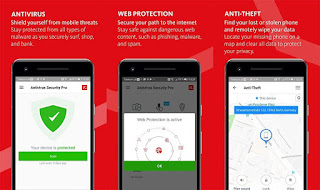 Aplikasi Avira Antivirus untuk Android