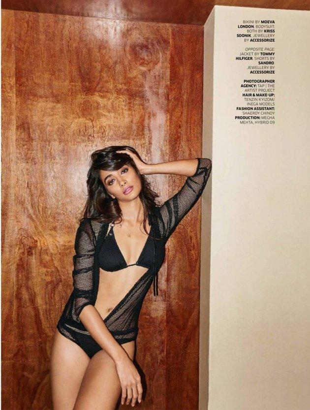 Pooja hegde photoshoot for GQ Magazine stills