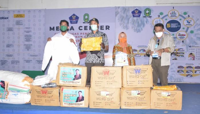 Untuk Ketiga Kalinya Sufmi Dasco Salurkan Bantuan APD Untuk Sinjai