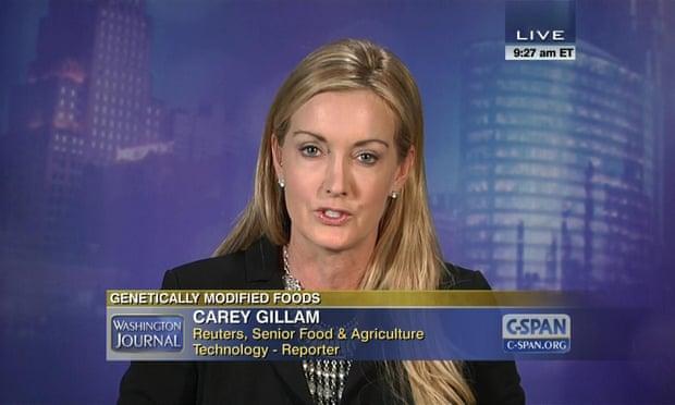 A Monsanto adotou uma estratégia multifacetada para atacar Carey Gillam, um jornalista da Reuters que investigou o herbicida da empresa. Foto: Carey Gillam
