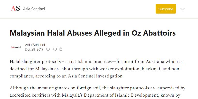 Isu Daging Halal