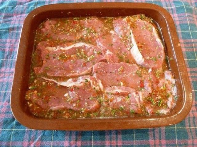 تتبيلات مختلفة للدجاج واللحوم والاسماك - للعيد