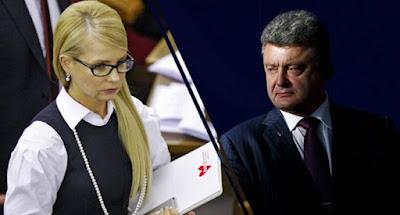 Порошенко та Тимошенко провели передвиборчі заходи в Києві