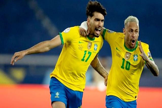 Com um jogador a menos, Brasil vence o Chile e avança na Copa América