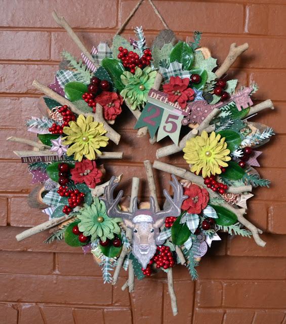 Christmas Treasure_Rustic Christmas Wreath_Denise_20 Dec 01