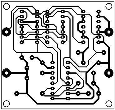 Printed Circuit Digital Bandpass Filter