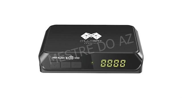 MULTISAT M300 NOVA ATUALIZAÇÃO V267 - 11/09/2020