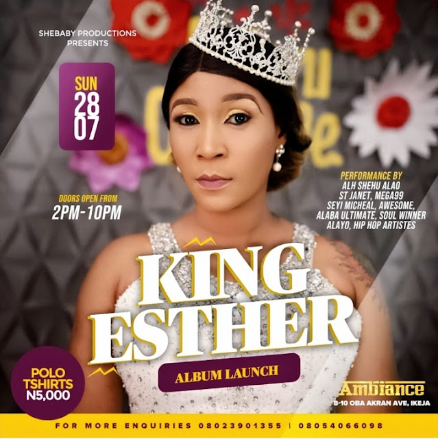 SHEBABY DROPS BOMBSHELL AS SHE SETS TO LAUNCH KING ESTHER *WHY I DON'T BOTHER ABOUT HATERS