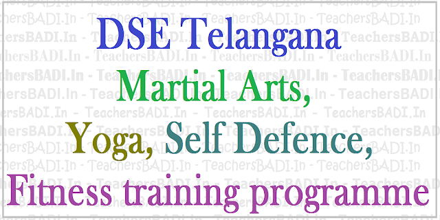 Martial Arts,Yoga,Self defence,Fitness training programme to PDs/PETs