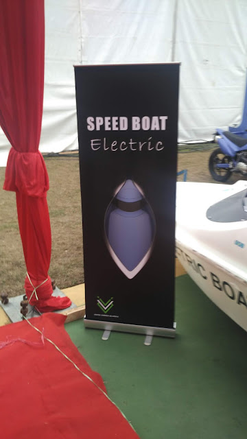 Roll Up Banner Speed Boat