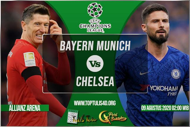 Prediksi Bayern Munich vs Chelsea 09 Agustus 2020