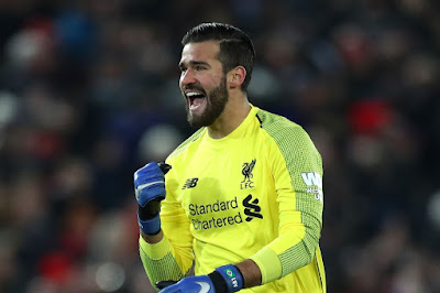 Liverpool Goalkeeper Alisson was inspired by the spirit inside the dressing room