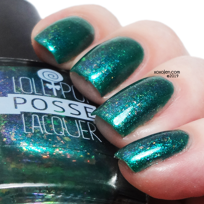 xoxoJen's swatch of Lollipop Posse Something Wicked