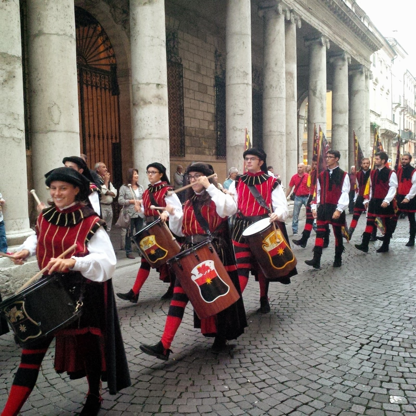Procession in honour of Antonio Pigafetta in Vicenza