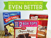 How To Make Box Cake Better