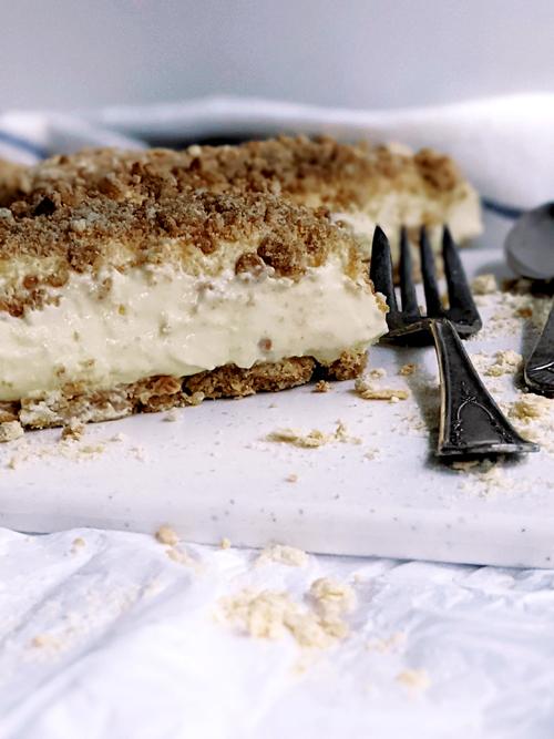 cheesecake de Shtisel. La verisón de la famosa torta, con ingredientes fáciles de conseguir