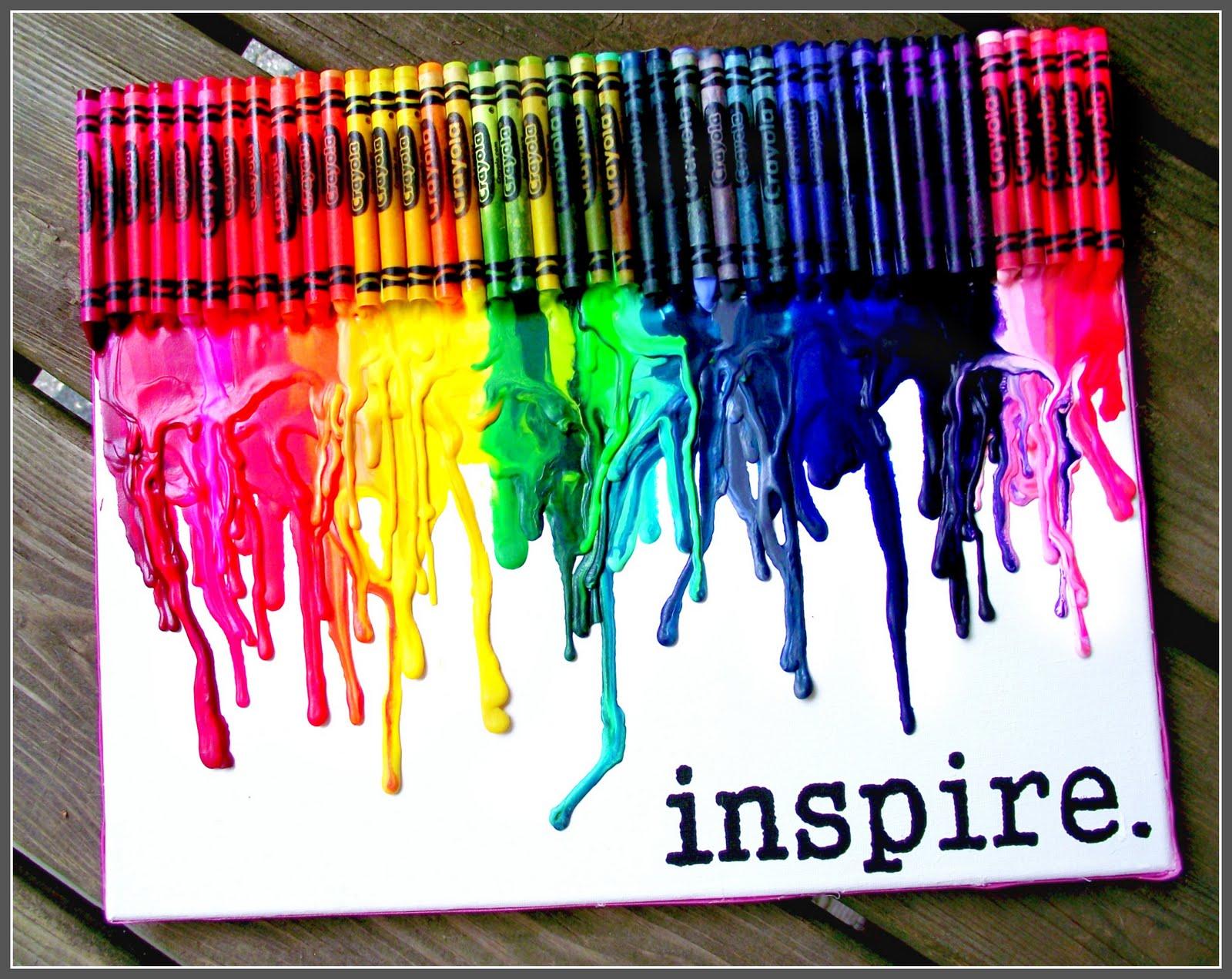 Mescrap: Tips : Melted crayon
