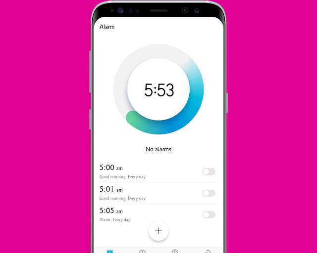 Double Tab On The Time - hidden android features