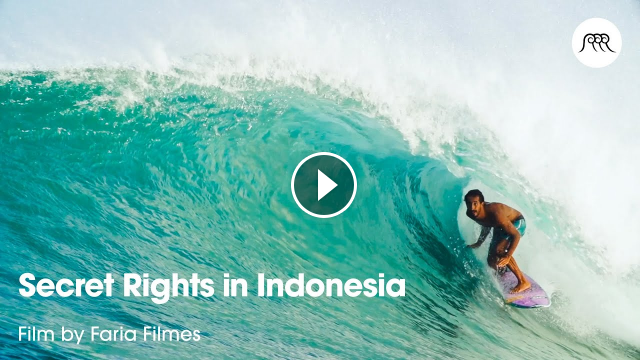 Secret Rights in Indonesia by Faria Filmes Surf trip to Indo