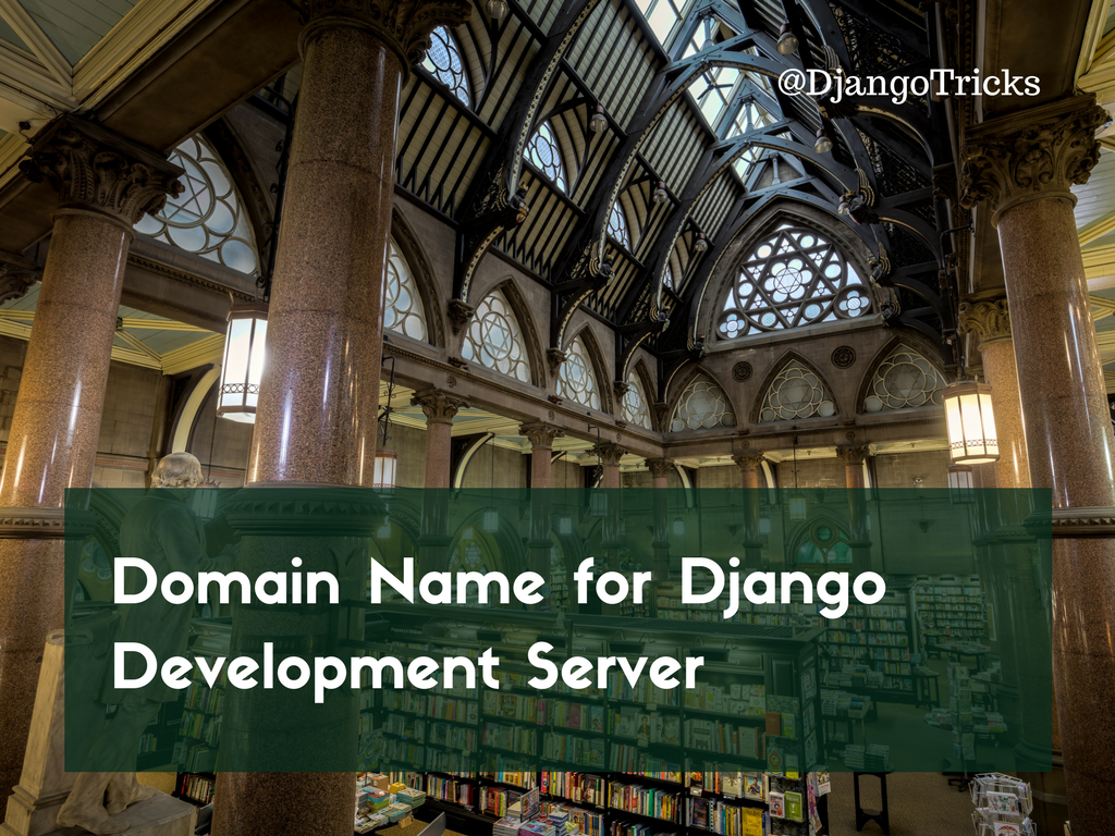 Domain Name for Django Development Server