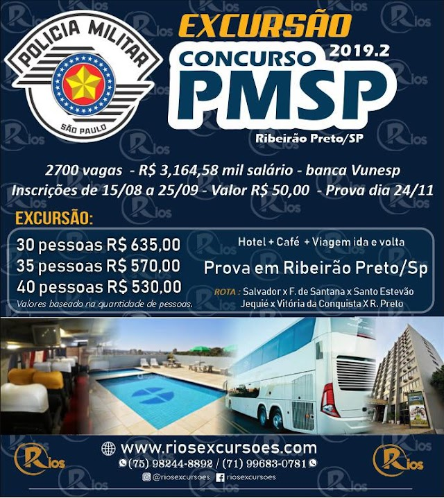 EXCURSAO PM SP