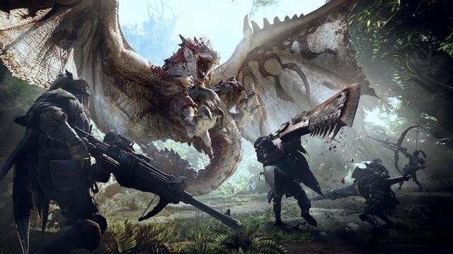 Ya disponible Okami HD en Switch y Monster Hunter World en PC