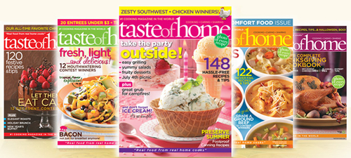 Taste Of Home Light and Tasty Annual Recipes 2008 (Hardcover) Cook Book Inv86