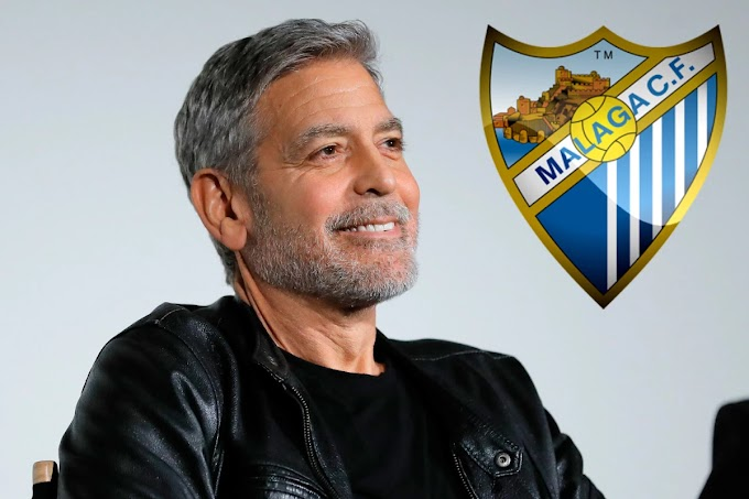 Hollywood actor George Clooney 'planning' a £36m bid to buy Spanish football club Malaga