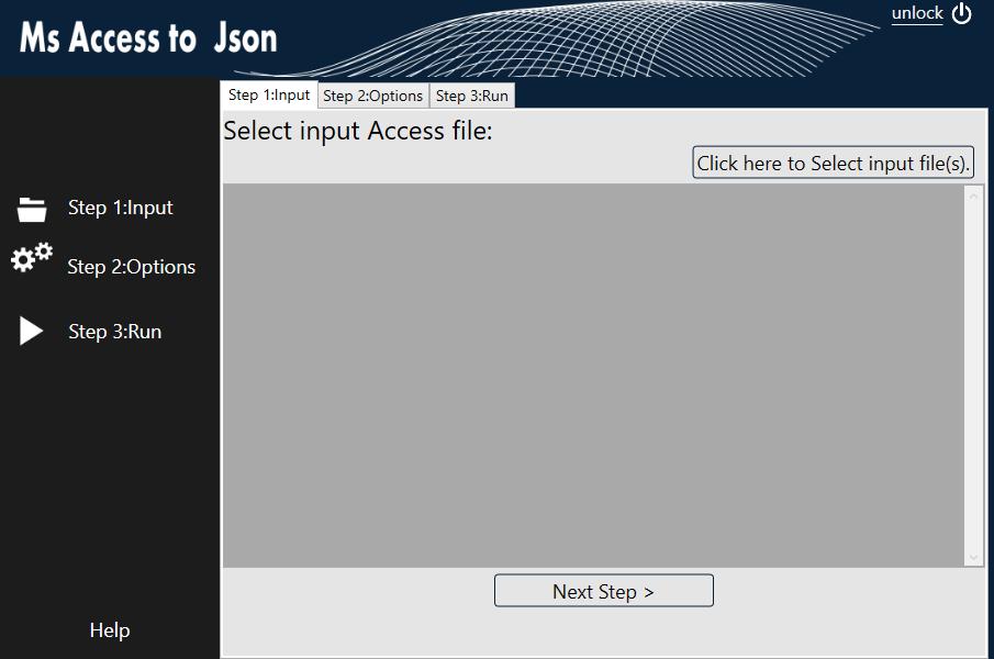 WhiterockSoftware com: Ms Access to Json