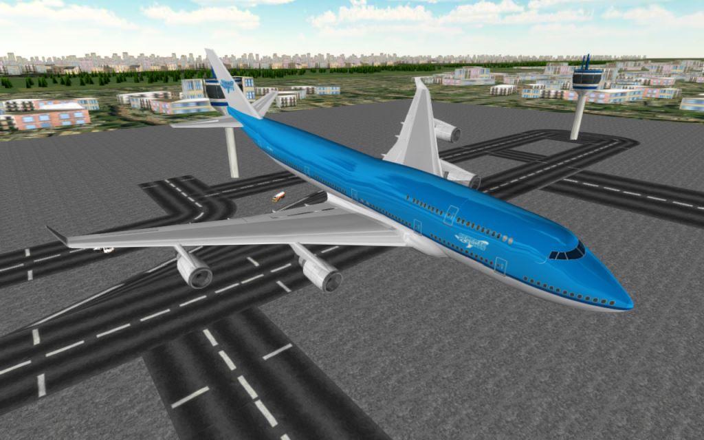 Game Pesawat Terbaik di Android Flight Simulator: Flyplane 3D