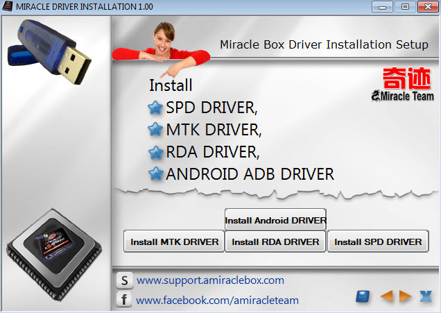 Miracle Box All Drivers 2020 for Windows (32 Bit & 64 Bit)