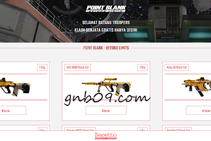Script Phising Point Blank Zepetto True Login Senjata Gratis v2.0