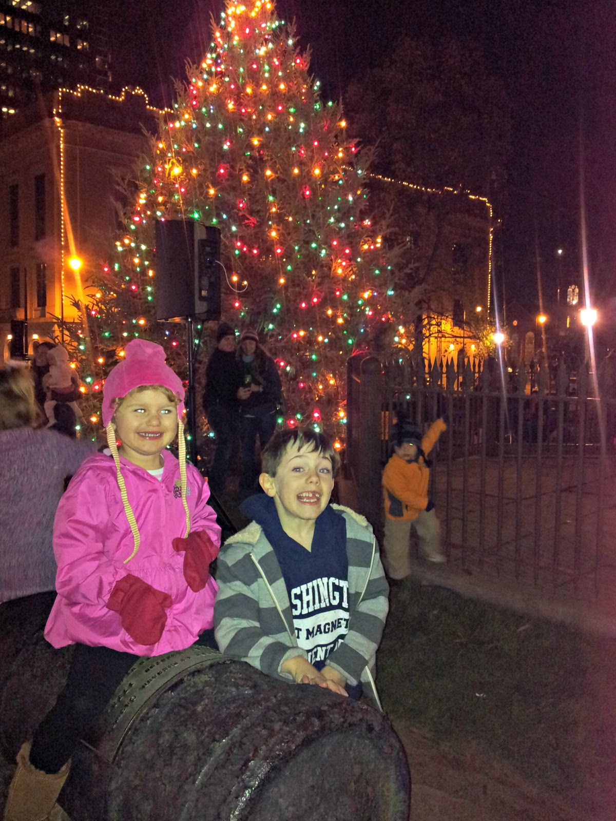 hines sight blog a capitol tree lighting tale in raleigh nc