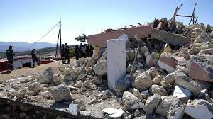 Man killed as Crete struck by 5.8-magnitude earthquake