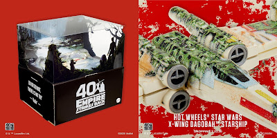 San Diego Comic-Con 2020 Exclusive Star Wars Dagobah X-Wing Hot Wheels Starship by Mattel