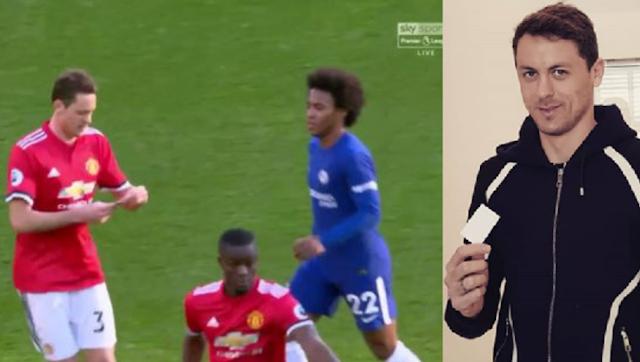 Matic dévoile ce qu'il y avait sur le papier donné par Mourinho en plein match