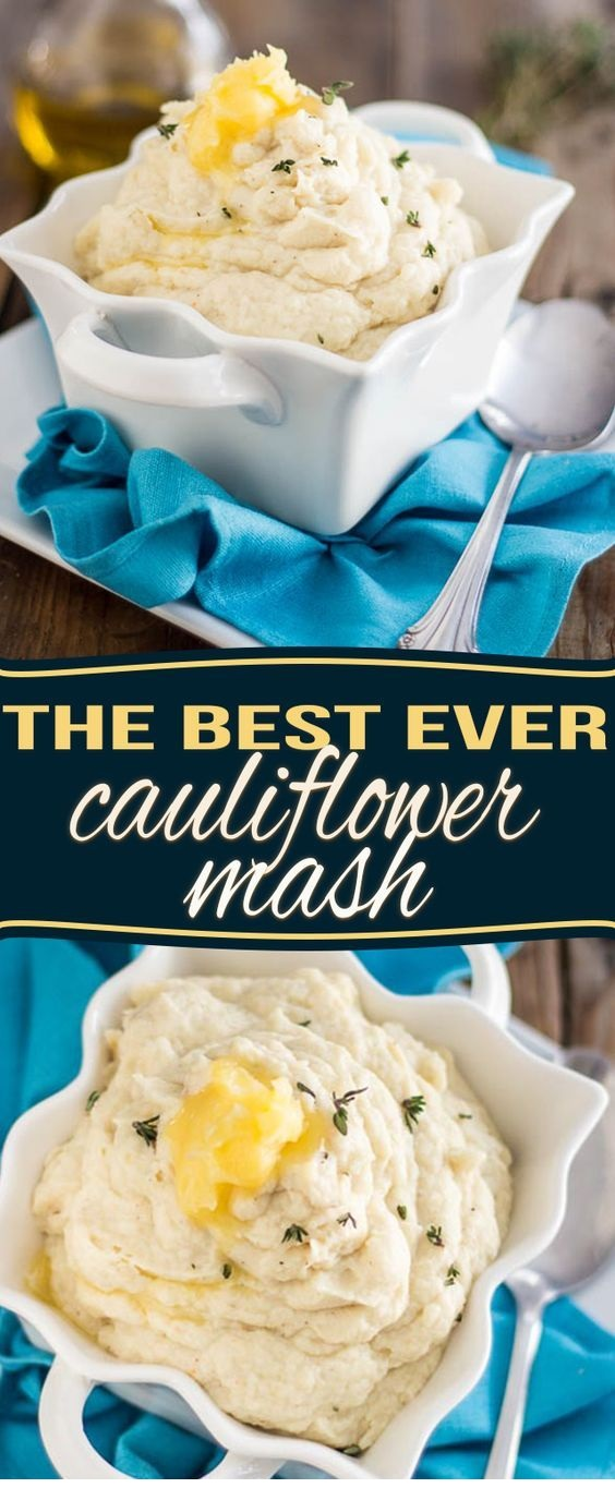 The Best Cauliflower Mash Ever