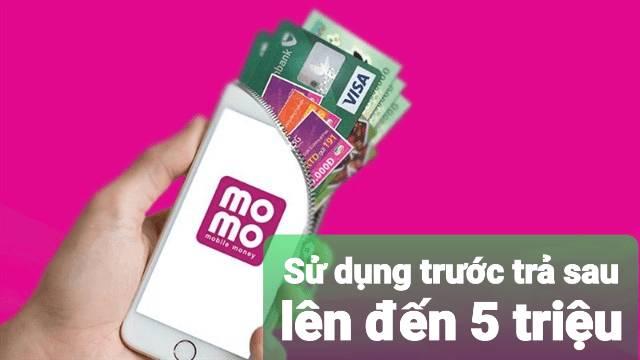 Sử dụng ví Momo nhận ngay quà 600k + sử dụng trước trả sau lên đến 5 triệu