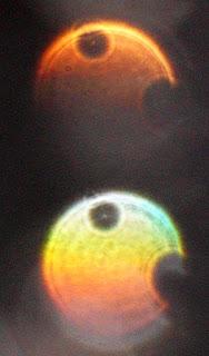 orange orb with holes