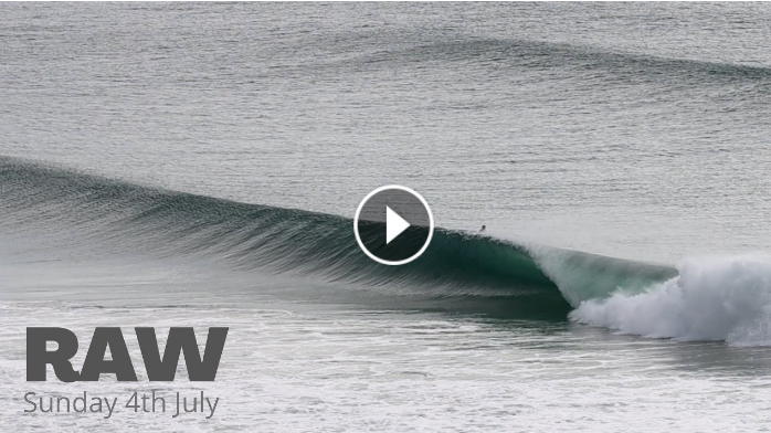 SURFING RAW AT KIRRA AND SNAPPER ROCKS - Sunday 4th July 2021