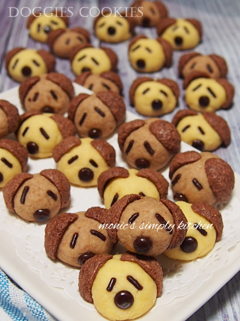 resep doggies cookies