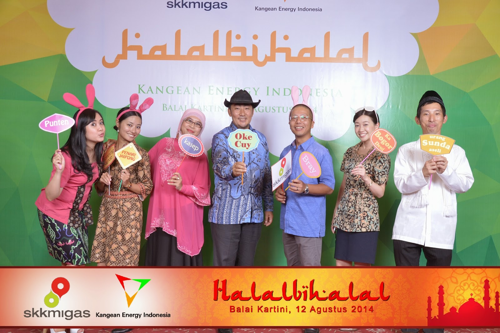 Photo Booth Event Halal Bihalal