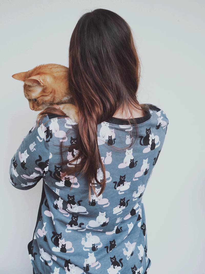 KuneCoco • #naehdirwas April • Katzenshirt
