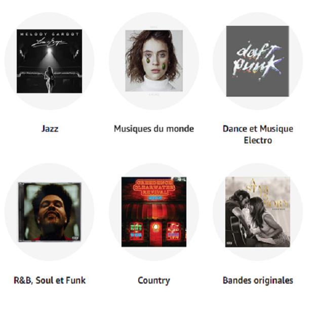 MUSIQUES : CD & VINYLES - LA BOUTIQUE