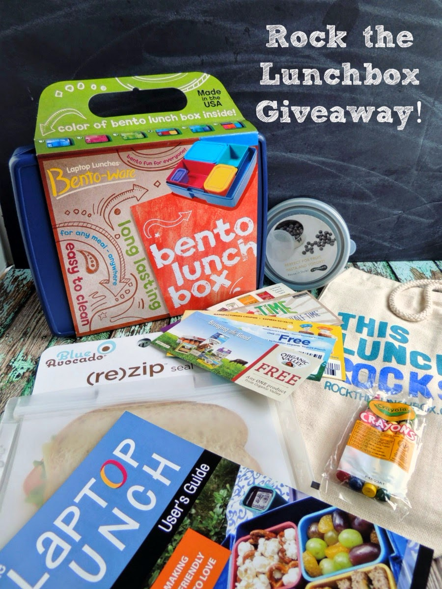 Rock the Lunchbox Toolkit Giveaway via thefrugalfoodiemama.com #teamannies #rockthelunchbox