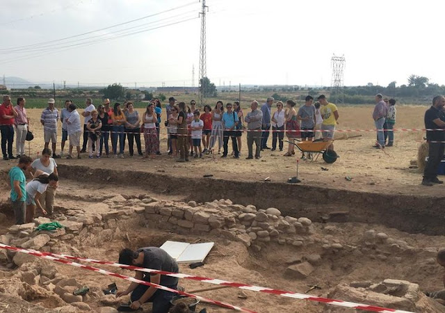 Fortification wall of Ibero-Roman city of Isturgi found